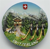 Switzerland + Alphorn