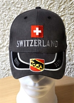Switzerland Cap Bern grau